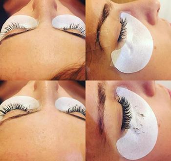 Prestations de votre esthéticienne pour sublimer votre regard : maquillage, extensions de cils